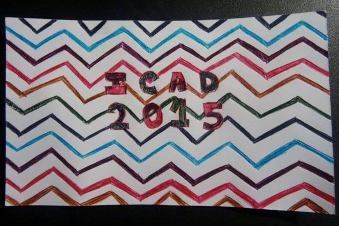 ICAD 2015 - day 1 - chevron